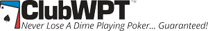 ClubWPT-NeverLose-BlkOnWht-SPOT_300x46