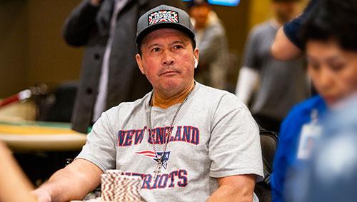 Frank Stepuchin at the WPT Gardens Poker Championship